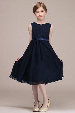 eDressit Navy Blue Short Wedding Party Flower Girl Dress (28192605)