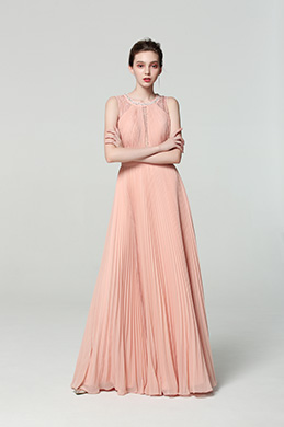 eDressit New Illusion Neck Pleated Formal Evening Dress (00190110)