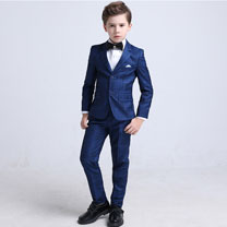 eDressit Dark Blue Boys Suits Children Wedding Tuexdo (16190905)