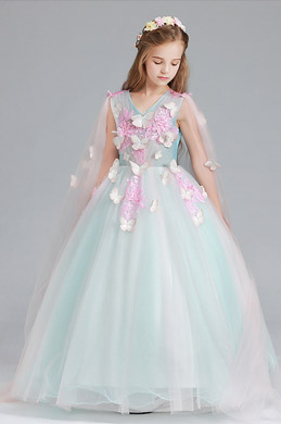 eDressit Green Children Wedding Flower Girl Dress (27190104)