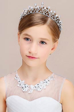 eDressit Pearl Crown Girl Headwear Hair Hoop(13190926)