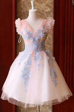 eDressit Robe de Cocktail Courte Belle Princesse Rose (35190701)