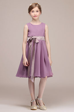 eDressit Purple Sleeveless Kids Wedding Flower Girl Dress(28192806)