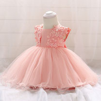 eDressit Cap Sleeves Lace & Tulle Baby Dress Infant Dress (2319022)