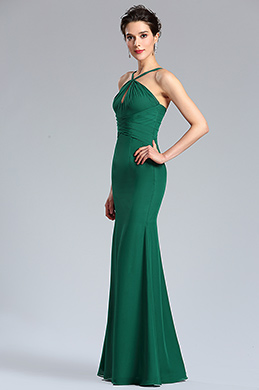 eDressit Green Halter Neck Summer Bridesmaid Ball Dress (02182204)