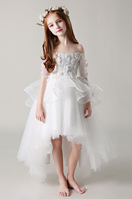 eDressit Princess Off Shoulder Children Wedding Flower Girl Dress (28198707)