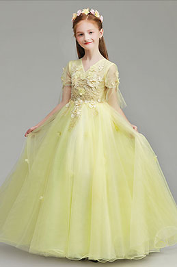 eDressit Long Princess Party Stage Flower Girl Dress (27191603)