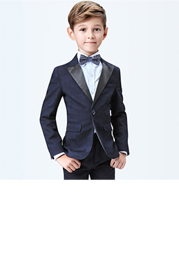 eDressit Dark Blue Boys Suits Children Wedding Tuxedo (16190605)