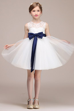 eDressit Lovely White Wedding Flower Girl Dress (28192507)