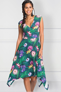 eDressit Short Printed Cocktail Dress Summer Dress (35193768)