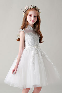 eDressit Bow-knot Lace Flower Girl Dress (28199507)
