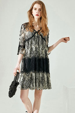 eDressit Two Pieces Lace Summer Dress Day Dress (30194500)