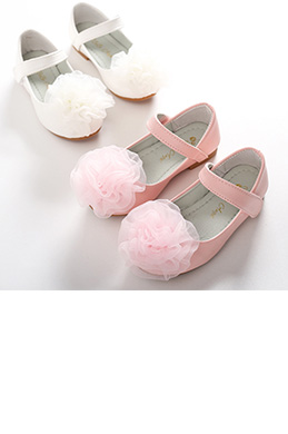 eDressit NEW Children Girl Closed Toe Leather Flower Shoes (250025)
