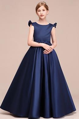 eDressit Robe de Princesse Longue Bleu Marine (27193305)