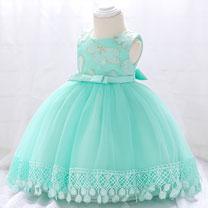 eDressit Lace Sleeveless Bow-knot Baby Dress (2319042)