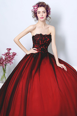 eDressit Sexy Corset Puffy Skirt Long Train Prom Dress (36193802)