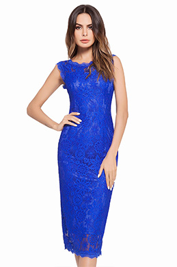 eDressit Lace Sleevless Cocktail Dress Day Wear (35194705)