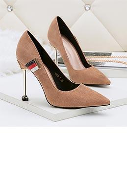 cafb246704ea0 Women's Fashion High Heel Patent Closed Toe Pumps Shoes (0919012)