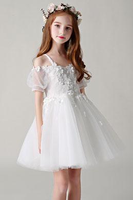 eDressit Princess White Children Wedding Flower Girl Dress (28198607)
