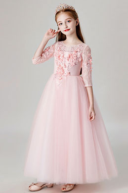 eDressit Princess Pink Children Wedding Flower Girl Dress (27205601)