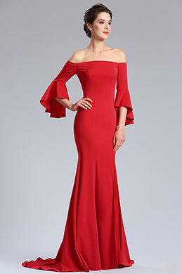 eDressit Red Off Shoulder Prom women Evening Dress (02181802)