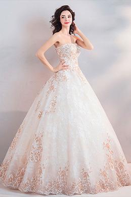 eDressit Sexy Corset Fitted Bodice Long Wedding Dress (36203307)