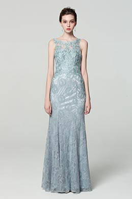 eDressit Grey Lace Fashion Evening Dress Prom Gown (00190308)