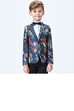 eDressit Boys Print One Button Closure Suits Show Tuxedo (16190268)