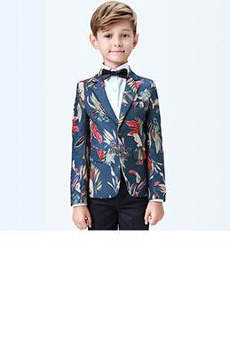 eDressit Boys Print One Button Closure Suits Show Tuxedo (16190268)