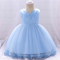 eDressit Cute Red Sleevlees Baby Dress Infant Dress (2319012)