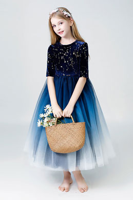 eDressit Princess Round Neck Children Wedding Flower Girl Dress (27203705)