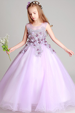 eDressit Sleeveless Wedding Flower Girl Party Dress (27200806)