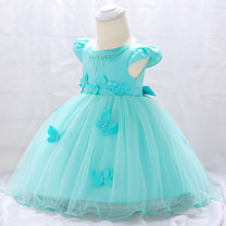 eDressit Cap Sleeves Tulle Baby Dress (2319032)
