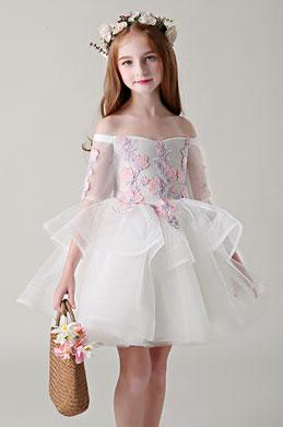 eDressit Off Shoulder Tulle Flower Girl Dress Little Girl Dress (28199407)