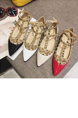 Fashion Woman Rockstud Ballet Flat (0919073)