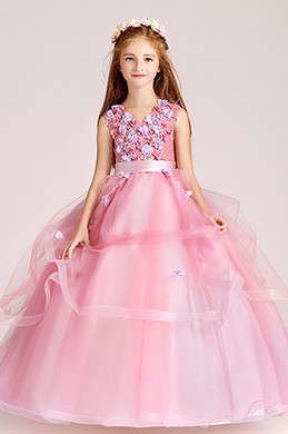 eDressit Lovely Tulle Wedding Flower Girl Party Dress (27202101)