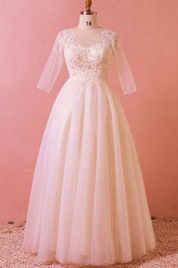 eDressit Sheer Top Lace Tulle Women Dress Plus Size Dress (31193301)