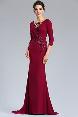 76d5cb43fc7 eDressit Burgundy Floral Mother of the Bride Occasion Dress (26181217)