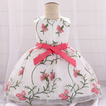 eDressit Embroidery Sleeveless Baby Dress Infant Dress (2319046)
