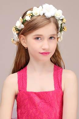 eDressit Floral Wreath Girl Headwear Hair Hoop  (13191268)