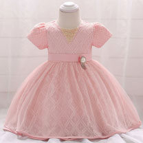 eDressit Lace Short Sleeves Baby Dress Infant Dress (2319041)