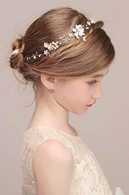 eDressit Pearl Beads Girl Headwear Hair (13190107)