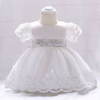 eDressit Lovely Lace Short Sleeves Baby Dress (2319023)