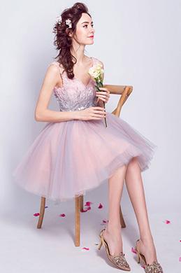 e8e959b494c6 eDressit V-Cut Sequins Lovely Short Cocktail Party Dress(35196201)