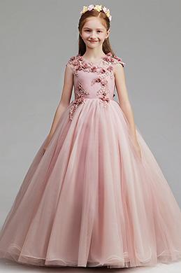 eDressit Pink Flora Children Wedding Flower Girl Dress (27201446)