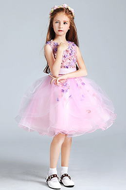 eDressit Cute Little Girl Flower Dress With Short Skirt (28196301)