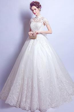 eDressit Nouvelle Robe de Mariée Elégante En Dentelles (36196607)