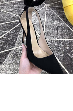 eDressit Women Suede Toe Closed High Heels Shoes (0919052)