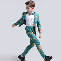 eDressit Boys Print One Button Closure Suits Show Tuxedo (16191368)