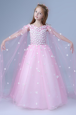 eDressit Pink Children Wedding Flower Girl Dress (27202601)
